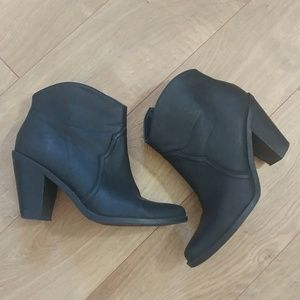 Dolce Vita Distressed Leather Booties